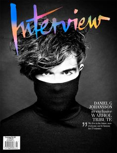 daniel g. johansson #interview #magazine