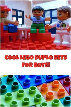 Kids who love bricks and building would enjoy this set of Duplo Lego sets boys absolutely want to have