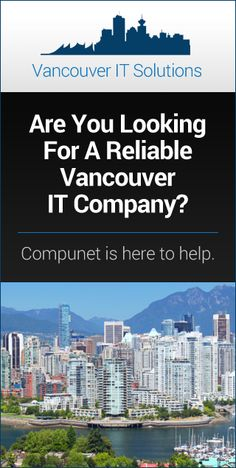Award-Winning IT Support & Managed IT Services Company for your Vancouver, Burnaby or Richmond business. It Services Company, Managed It Services, Vancouver, News, Business, Store, Business Illustration
