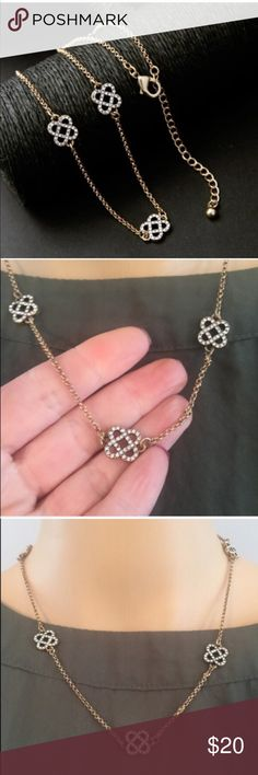 Beautiful necklace (new) Stunning piece! Lead and nickel free. Brand new in package. Also selling matching earrings. Price firm unless bundled Jewelry Necklaces
