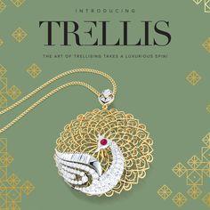 #trellis #gold #jewellery