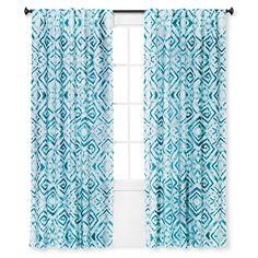 Curtain Panel Tulum Aqua - Sabrina Soto