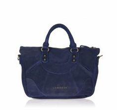 Liebeskind Tasche EstherD aus Wildleder in dunkelblau