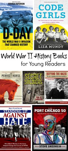 Intellectual Recreation: World War II Nonfiction for Young Readers Women's Army Corps, Oscar Winning Films, D Day, History Books, I Love Books, Military History, World War Ii, Nonfiction, True Stories