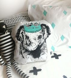 Collab Little Emperor Shaped Cushion – Burrow & Be