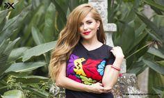 Marca mexicana de playeras y blusas bordadas con diseños típicos de Oaxaca. Cada  prenda de corte juvenil y fresco es bordada a mano por manos mazatecas e ... 1cad8174f3b25