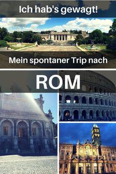 Spontan buchen und morgen schon verreisen? Unmöglich, sagen einige. Ich hab's gewagt und bin spontan nach Rom geflogen. Wie und was ich dort erlebt habe? Lest selbst.