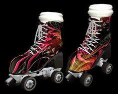 Roller Skates Splatter