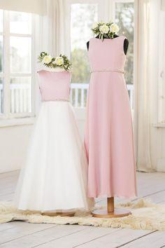 Flower Girl and Junior Bridesmaids Dresses | C640, T640 | True Bride