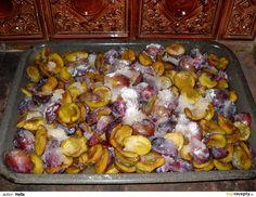 Povidla pečená v troubě Destiel, Preserves, Pickles, Sprouts, Stuffed Mushrooms, Food And Drink, Homemade, Chicken, Baking