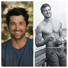 McDreamy and McSteamy #thesetwowouldmaketheperfectsummer