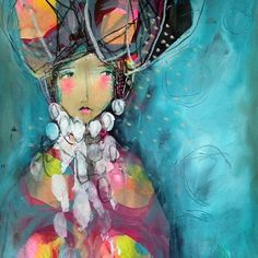 Possibilities by Juliette Crane Kunstjournal Inspiration, Art Journal Inspiration, Painting Inspiration, Mixed Media Canvas, Mixed Media Art, Online Painting Classes, Balance Art, Reading Art, Painting Workshop