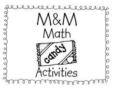 M & M Math Activity Book