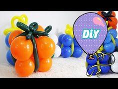 Como Fazer caixa presente de Balões #Natal - YouTube