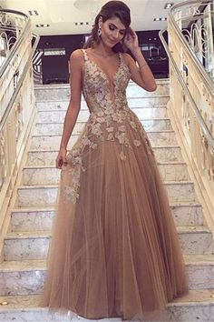 82207cf6ac 51 Delightful Champagne Prom Dresses images in 2019