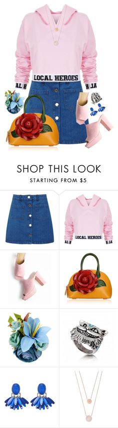 """Local Heroes"" by sghotra ❤ liked on Polyvore featuring Miss Selfridge, Local Heroes and Michael Kors"