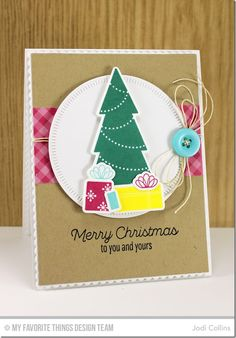 Trim the Tree, Blueprints 20 Die-namics, Radial Stitched Circle STAX Die-namics, Trim the Tree Die-namics - Jodi Collins  #mftstamps