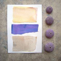 Hazy Purple by Gwen on Etsy