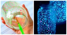 Universe Jar Tutorial to Create an at home Universe in a jar complete with stars, planets and comets in this easy reusable jar, Doubles as a fairy lights or firefly jar