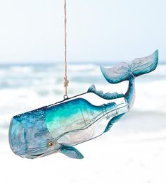 Recycled Bottle Whale - Wind and Weather