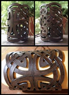 Celtic bracer by morgenland.deviantart.com on @deviantART