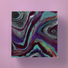 Get hypnotized by this wild resin art. Get hypnotized by this wild resin art. Diy Resin Art, Epoxy Resin Art, Diy Art, Diy Resin Painting, Diy Resin Crafts, Marble Painting, Acrylic Pouring Art, Acrylic Art, Galaxy Painting