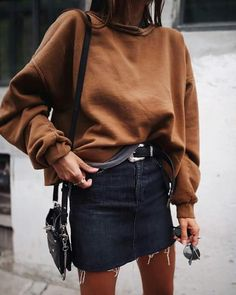 28 Perfect Scandi Street style outfits to steal from Copenhagen - Stricken Mode - Jupe Street Style Outfits, Mode Outfits, Casual Outfits, Party Outfit Casual, Party Outfit For Teen Girls, Party Outfits For Women, Easy Outfits, Fashion Moda, Look Fashion
