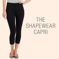 Be in control (fashionably) in Lysse shapewear capris ;) #ideelWOW