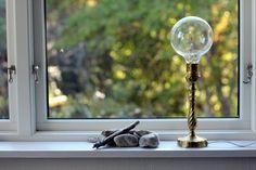 seventeendoors: diy - lamp