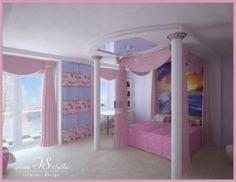 Teen Bedroom Decor Ideas With Bedroom Teenage Bedroom Furniture Decorating Teenage Room Designs, Girl Bedroom Designs, Modern Bedroom Design, Bedroom Ideas, Bedroom Inspiration, Bedroom Decor, Pink Bedroom For Girls, Teenage Girl Bedrooms, Little Girl Rooms