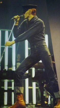 David Bowie.  Woof.