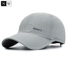 NORTHWOOD  Summer Baseball Cap With Mesh Snapback Hat Solid Bone Trucker  Cap Sun Baseball Hat Peaked Dad Cap For Adult f0ac272be3e