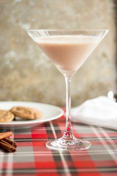 Gingerbread christmas cookie martini recipe