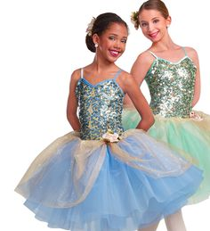 Curtain Call Costumes® - Rays Of Light (comes in 3 colors: rose, blue and mint)