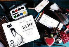 #CreativityChallenge #MoleskineTower #creatividad #M_myPlanner16 #MyMoleskine #Moleskine #sketchbook