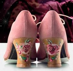 Zapato baile flamenco Begoña Cervera Modelo Santa Casilda