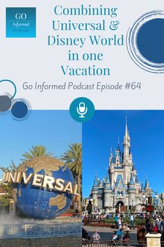 Tips for combining both Disney World and Universal on your Orlando vacation. Find out how to make the most of your big trip, without missing a thing. Catch the Go Informed Podcast on your favorite podcast app, or at GoInformed.net
