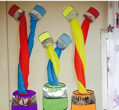 Legendary Instances Of Motivational Classroom Design for preschool. Classroom Decor Ideas to Help you Have the Best Class on the Tightest // education classroom decor // classroom decoration ideas preschool Art Classroom Decor, Diy Classroom Decorations, Classroom Design, Classroom Displays, Classroom Ideas, Kindergarten Classroom, Arte Elemental, Art For Kids, Crafts For Kids