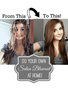 How to get that salon look for less! DIY Blowout Tutorial just like you get in the Salon. She has gorgeous hair!