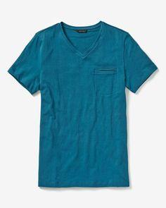 RW&CO.   Jacquard short sleeve t-shirt with pocket   Summer 2015