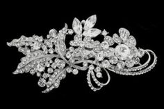 Wedding Bridal Headpiece Crystal Diamante Hair Comb Accessory NEW 13cm | eBay