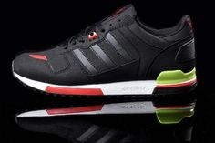 Order Online Adidas Originals ZX 700 Trainers Womens Obsidian/Red/Lime  Green Style Code