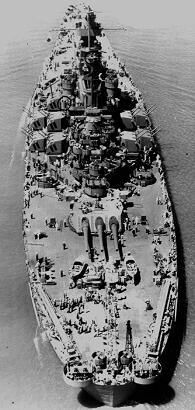 USS South Dacota Battleship WW II