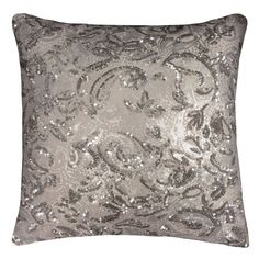 Alexa by Kylie Minogue Filled Cushion, Silver – PASX UK