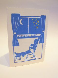 Paper Cut Design New Baby Card £2.99