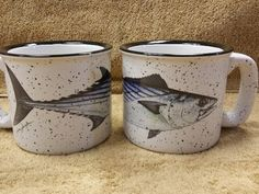 Bonito White Trail Mug Rustic Mugs, Trail, Display, Tableware, Bonito, Floor Space, Dinnerware, Billboard, Dishes