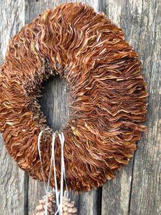 Thanksgiving wreath - Fall wreath - Autumn wreath - Christmas wreath - Winter wreath - Magnolia wreath