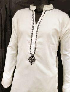 Spring summer gifts for him Man kurta handmade personalized gift shirt salwar…
