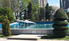 Parcul Gării Constanța, Romania April 2020