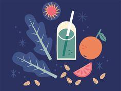 Drink Up - Alexander Vidal Illustration